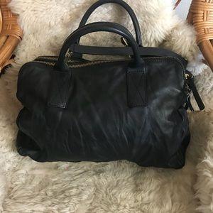 Handbags - Cotelac large black leather satchel
